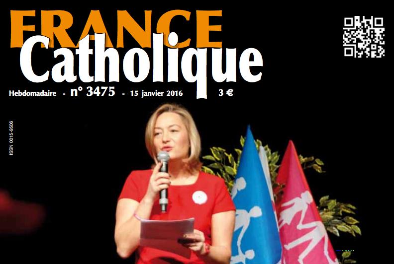 """Image - """"Bilan et projets de LMPT"""" : l'interview de Ludovine de La Rochère dans France catholique."""