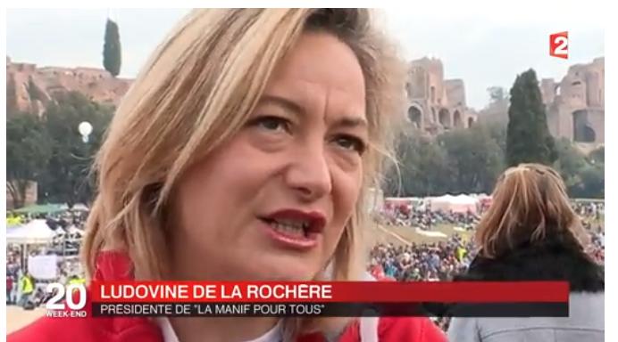 """Image - 20H de France 2 – Reportage sur le """"Family Day"""" avec La Manif Pour Tous Italia"""