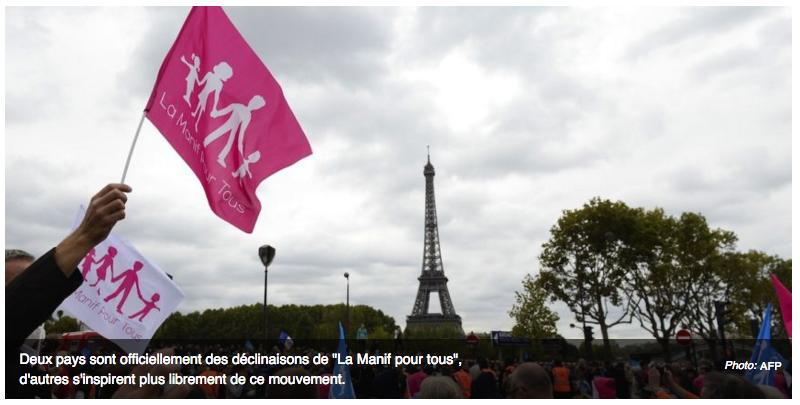 """Image - Métronews – Quand la """"Manif pour tous"""" s'exporte à l'étranger"""