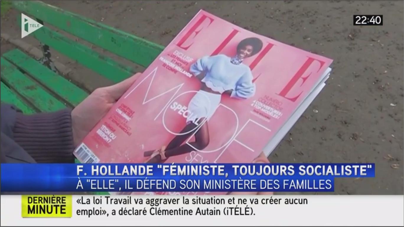 Image - VIDEO – Ludovine de la Rochère réagit aux déclaration de Hollande sur i-télé