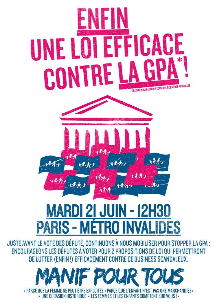 Image - RDV le 21 juin à 12h30 (Paris – Métro Invalides)