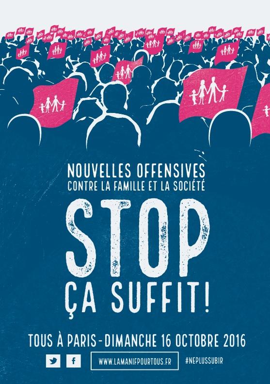 Image - CP – La Manif Pour Tous appelle à manifester dimanche 16 octobre 2016