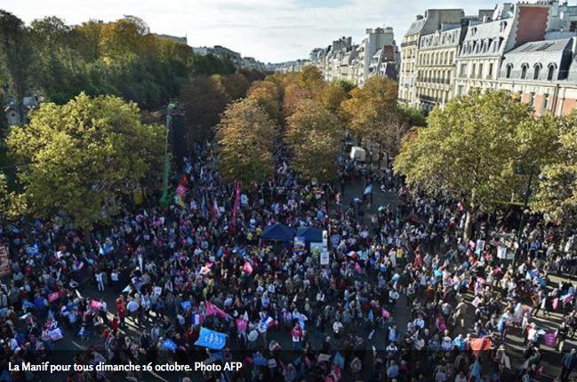 """Image - Valeurs Actuelles : """"La Manif pour tous saisit la justice"""""""
