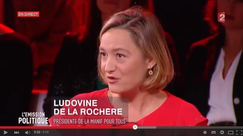 Image - Débat entre Ludovine de La Rochère et Bruno Le Maire sur France 2