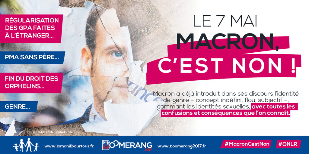 Image - (COMMUNIQUE) Le 7 mai : Macron, c'est non !