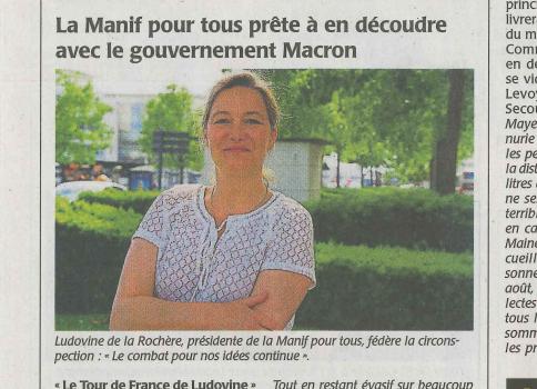 Image - La Manif Pour Tous prête à en découdre avec le gouvernement Macron
