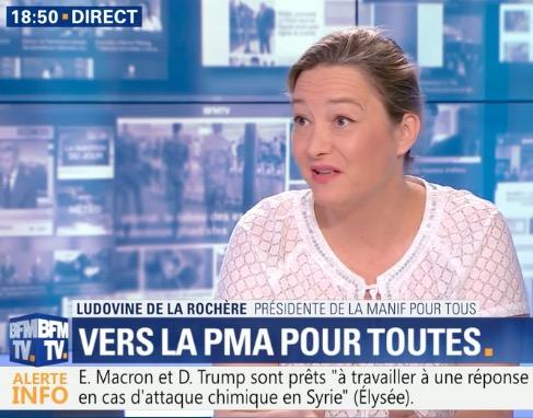 Image - [BFM TV ] – Ludovine de La Rochère réagit à l'avis du CCNE sur la PMA