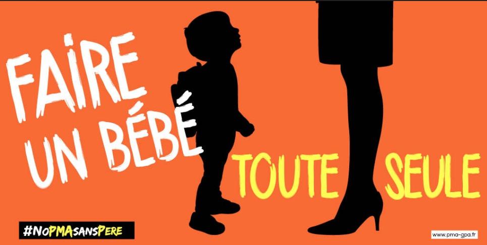 """Image - Communiqué de presse : """"PMA sans père: stop aux calomnies et caricatures"""""""