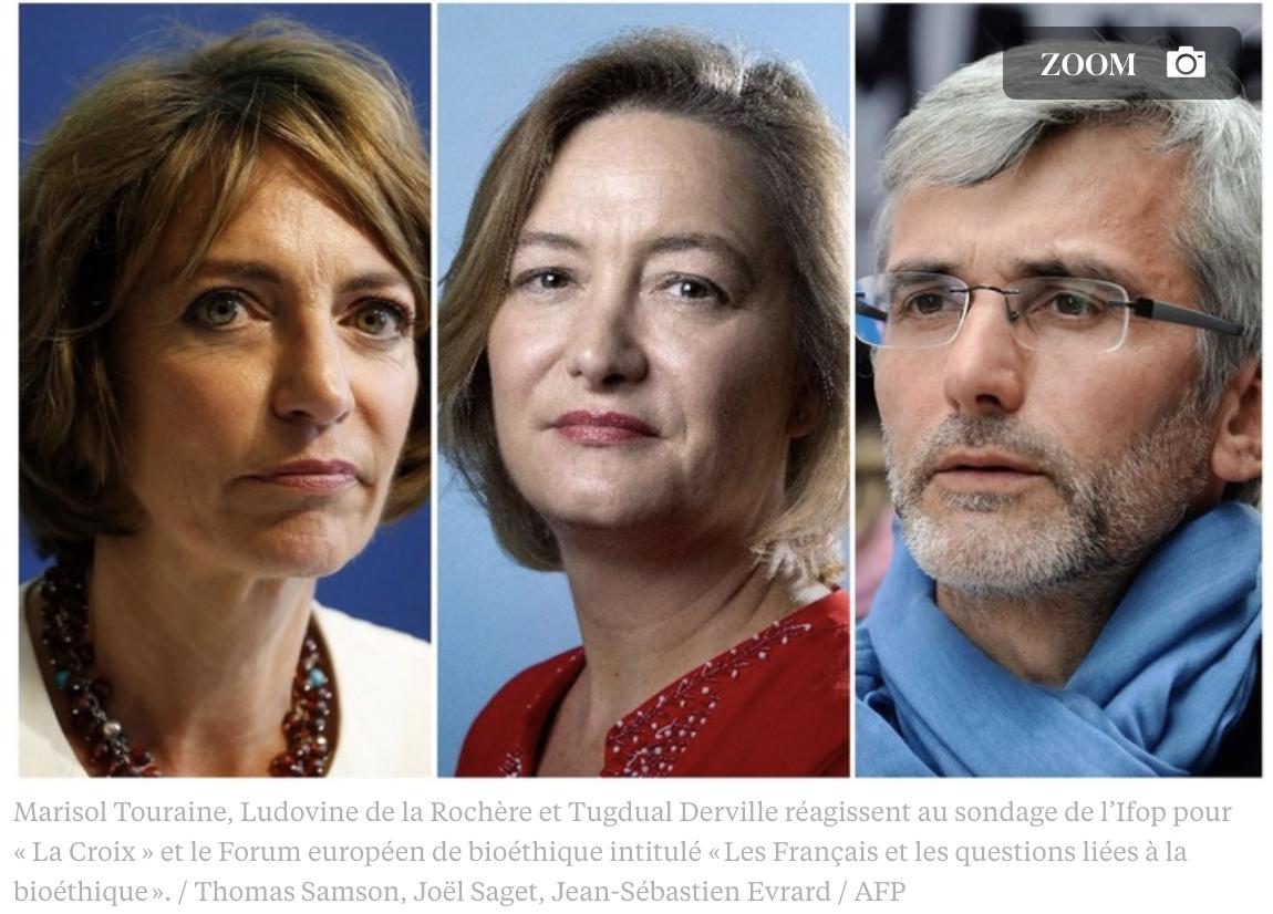 """Image - La Croix : """"Les Français et la bioéthique: le débat est relancé"""""""