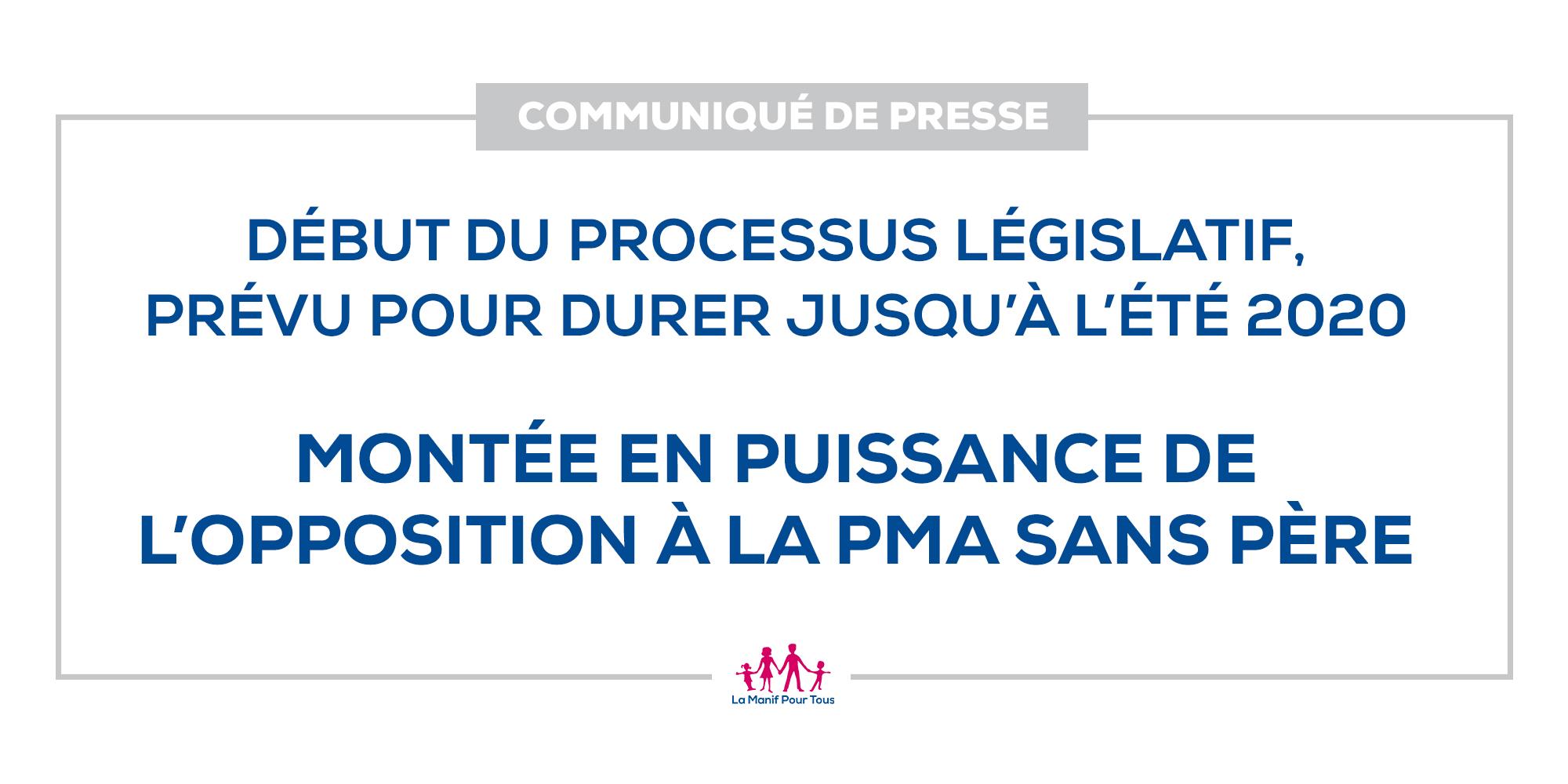Image - Début du processus législatif : Montée en puissance de l'opposition à la PMA sans père