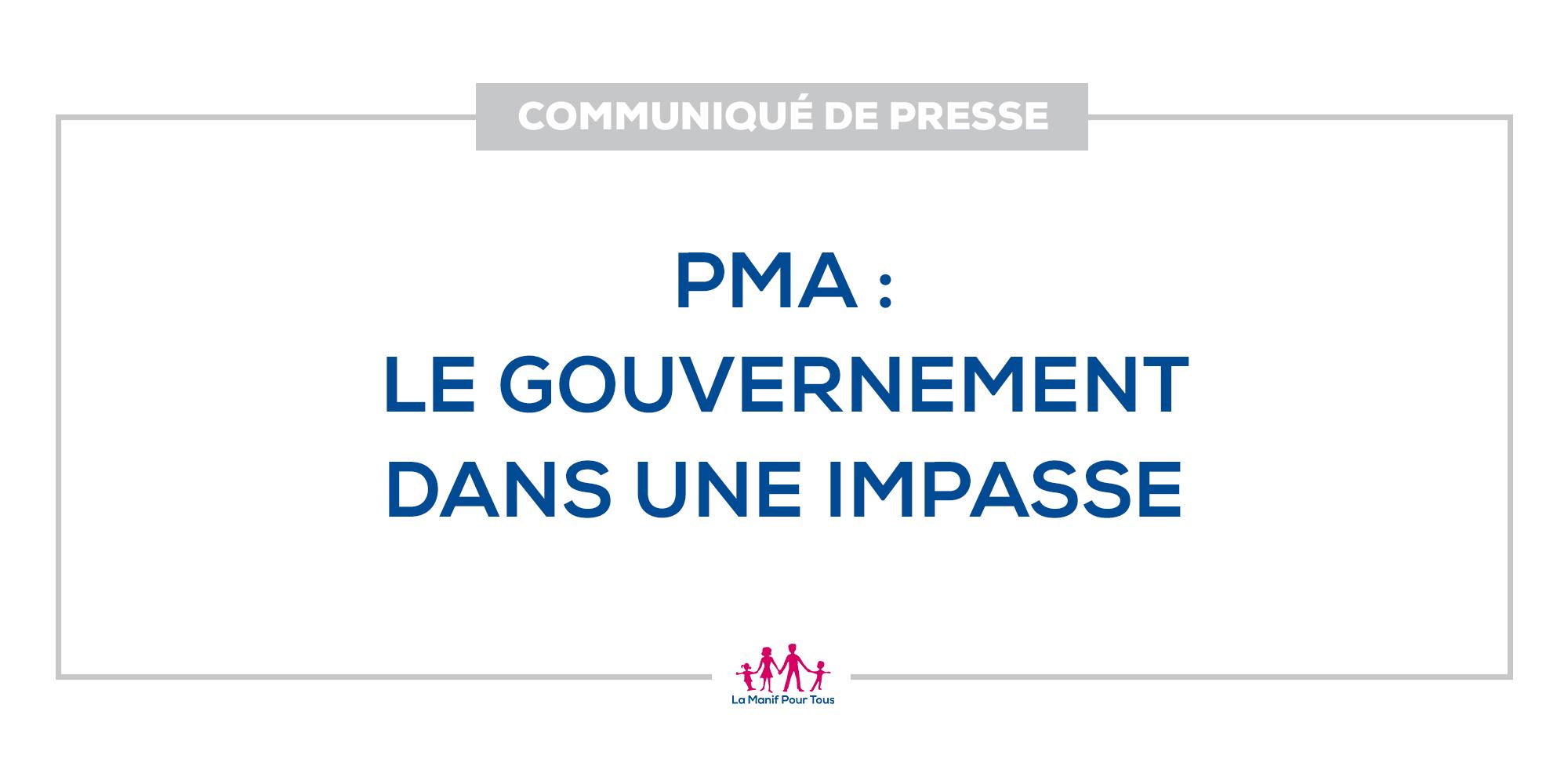 Image - Communiqué de presse – PMA : le Gouvernement dans une impasse