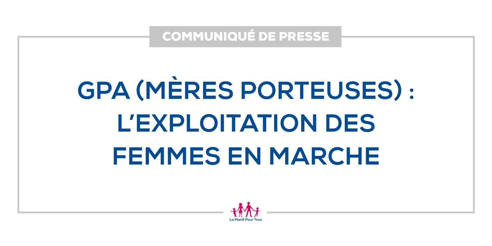 Image - Communiqué de presse : GPA (mères porteuses) : l'exploitation des femmes en marche
