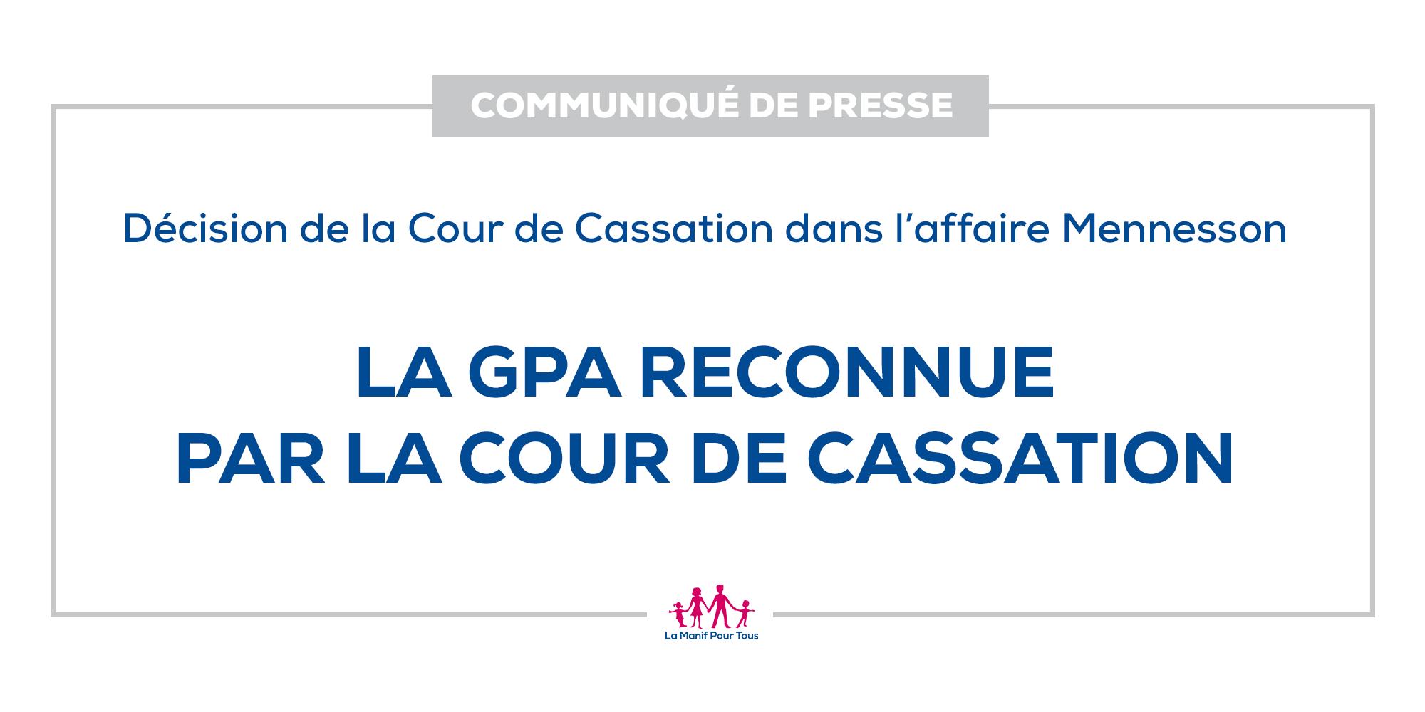 Image - Communiqué – La GPA reconnue par la cour de Cassation !