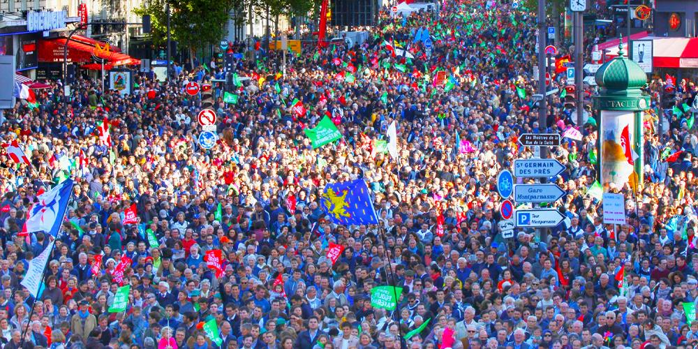 Image - Retour sur la manifestation du 6 octobre