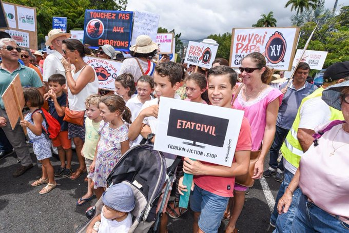 Image - Les Français d'Outre-mer et de l'étranger se mobilisent contre la PMA sans père et la GPA