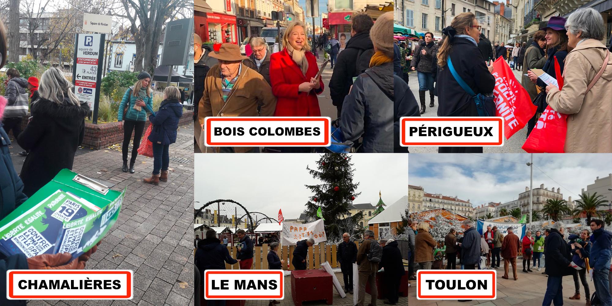 Image - AFP – Les anti-PMA tentent de mobiliser avec tracts et pétition dans plusieurs villes