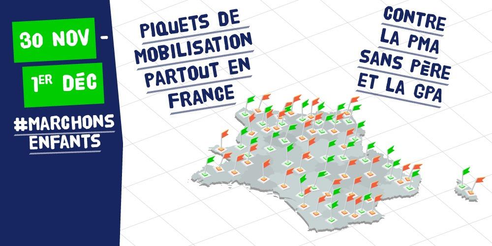 Image - 30 novembre / 1er décembre : piquets de mobilisation dans toute la France