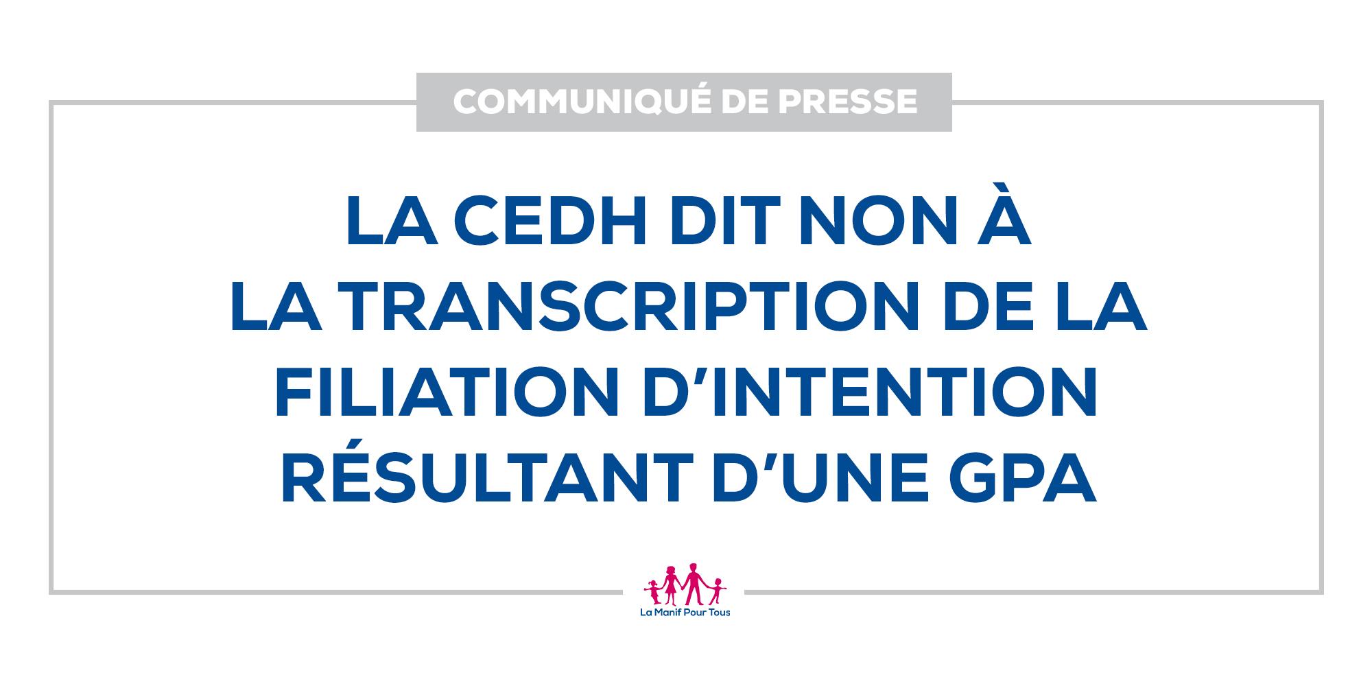 Image - La CEDH dit non à la transcription de la filiation d'intention résultant d'une GPA