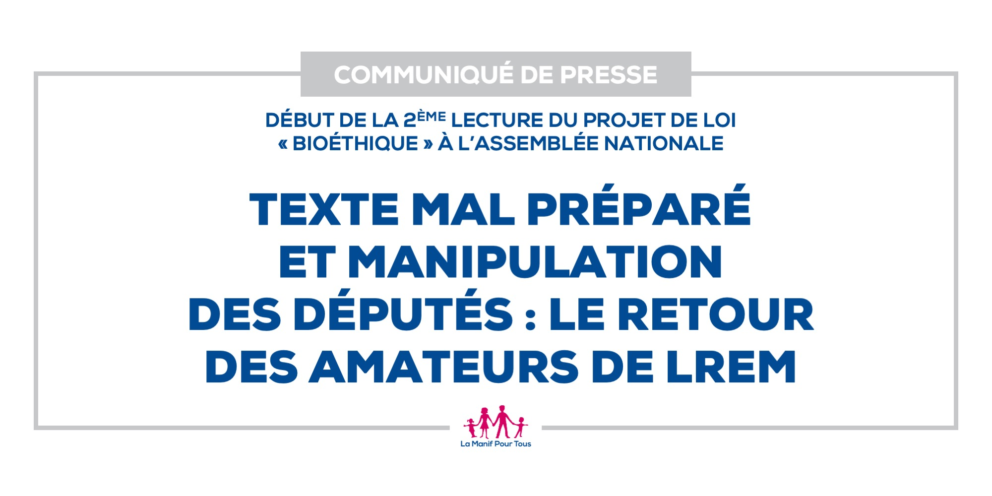 Image - Texte mal préparé et manipulation des députés : le retour des amateurs de LREM