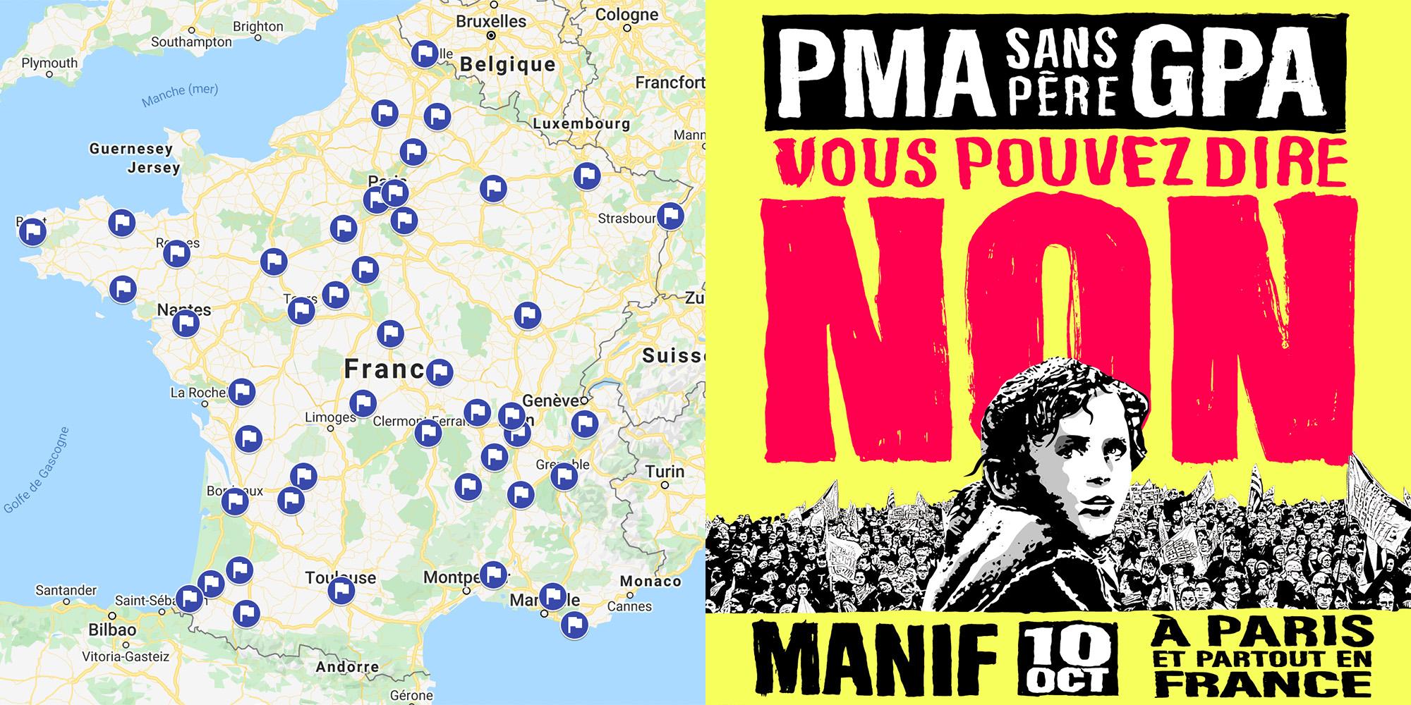 Image - 10 octobre : manifestations partout en France