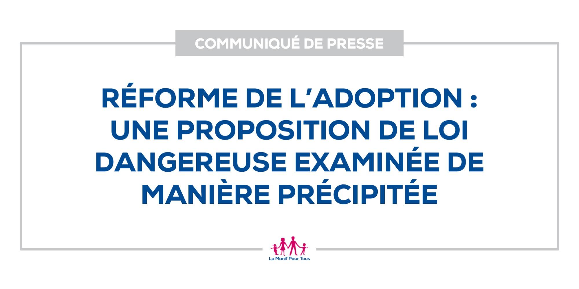 Image - Réforme de l'adoption : une proposition de loi dangereuse examinée de manière précipitée