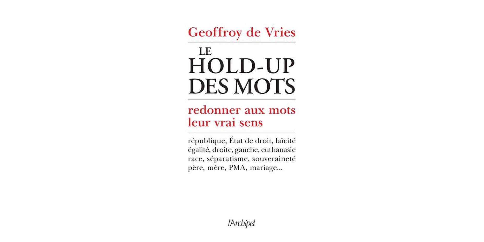 Image - Livre : « Le hold-up des mots » – Profiter de l'été pour se former