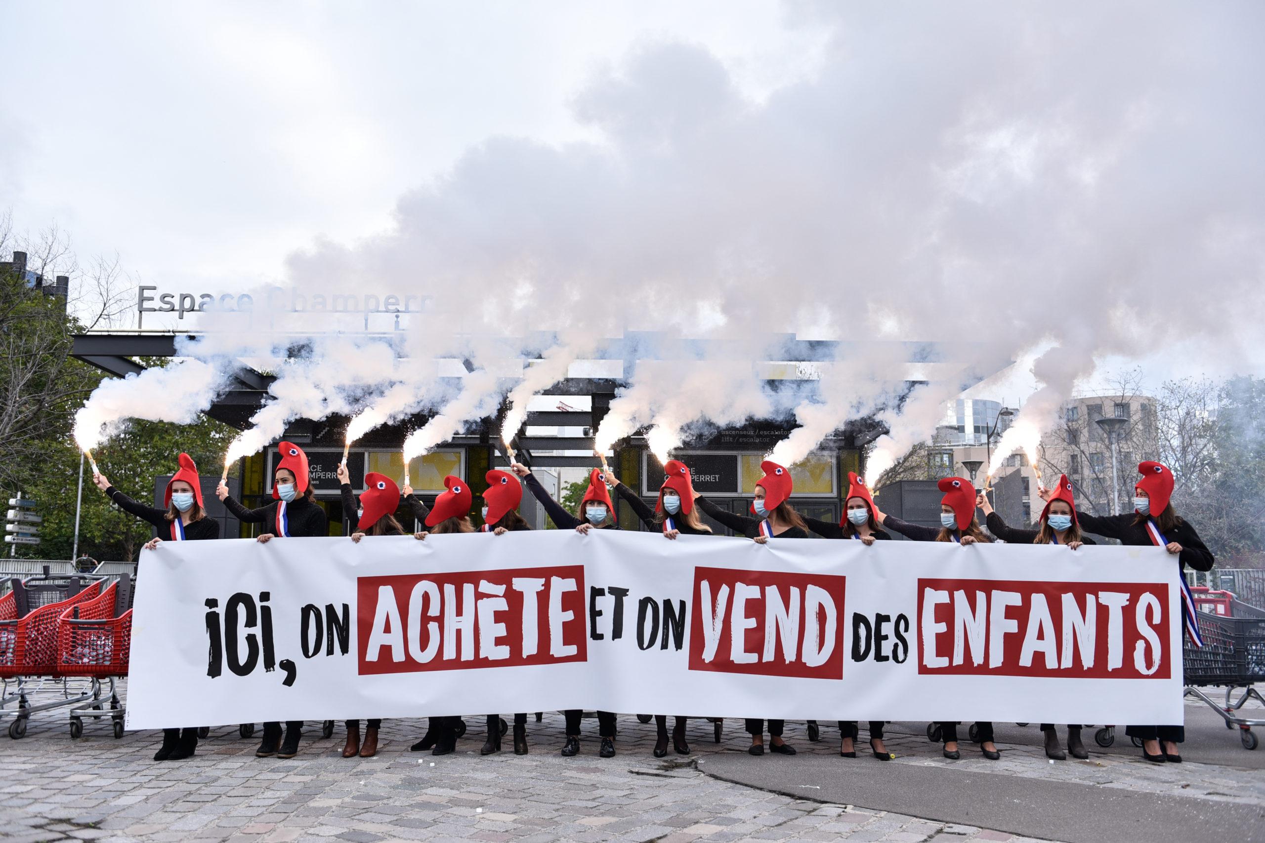 Image - Non à l'achat et à la vente d'enfants à Paris